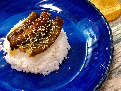 Cơm Lươn Sốt Teriyaki bước làm 4