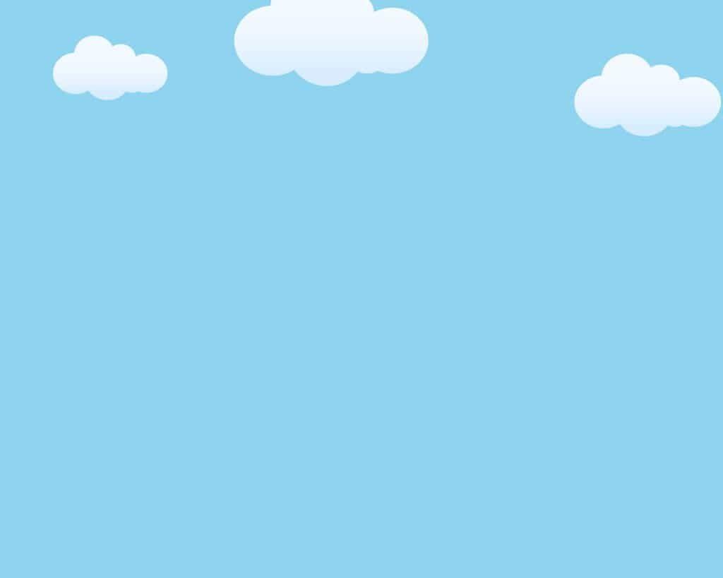 background đẹp với nền xanh mây trắng