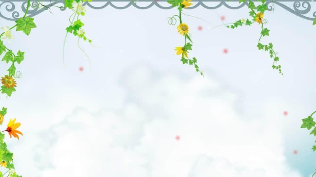 background đẹp với họa tiết hoa hướng dương
